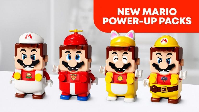 LEGO Mario heeft losse Power-Up Packs voor Cat Mario en meer