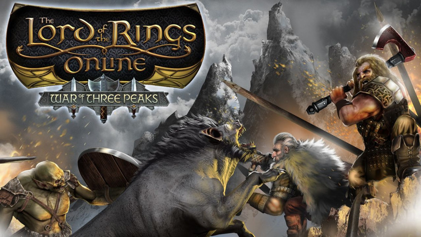 Lord of the Rings Online begint aan The War of the Three Peaks