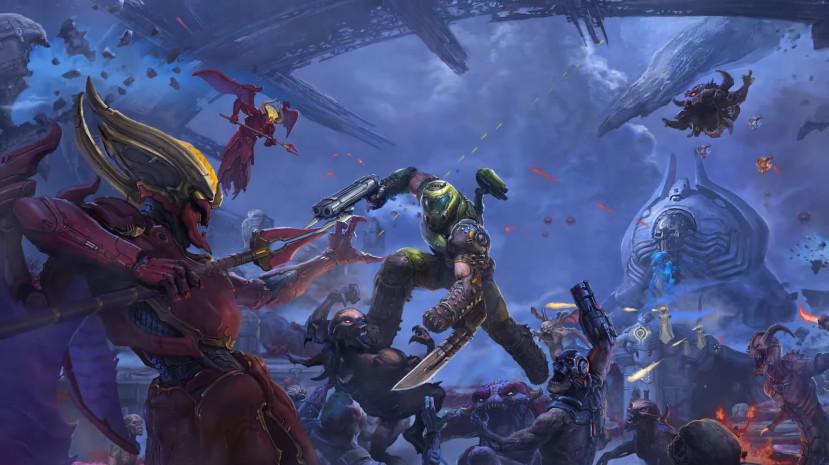 Meer actie in trailer Doom Eternal: The Ancient Gods Part One