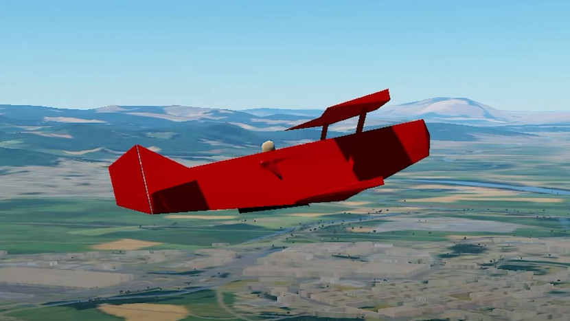 Microsoft Flight Simulator, maar dan met de laagst mogelijke settings