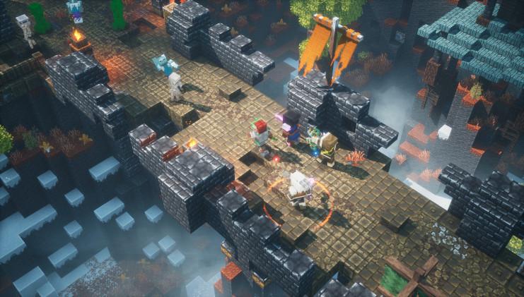 Minecraft Dungeons: cross-play in november, nieuwe DLC in december