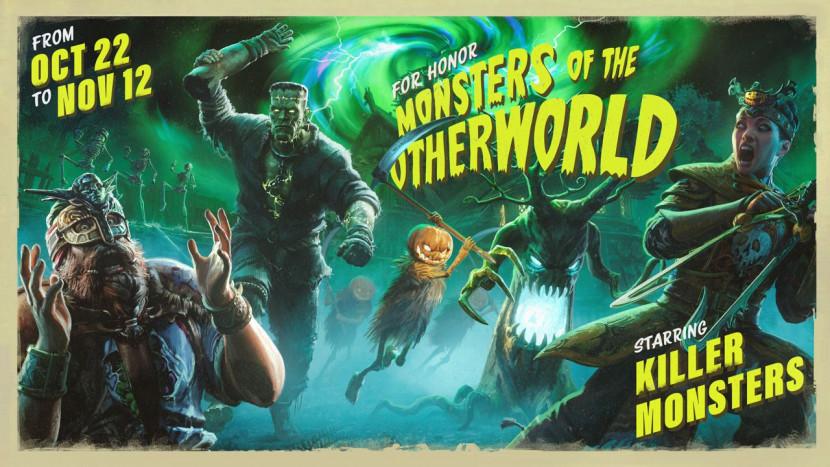 Monsters dringen For Honor binnen voor Halloween