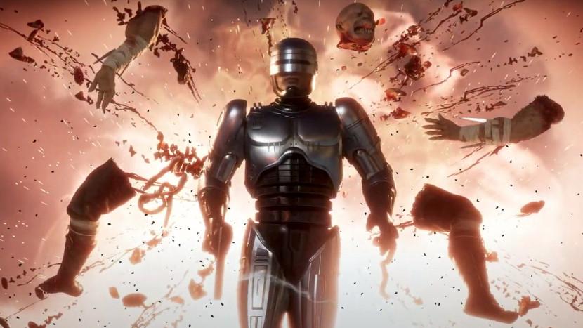 Mortal Kombat 11: Aftermath toont RoboCop in actie