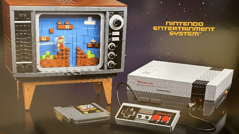 NES LEGO-set met bewegende tv gelekt