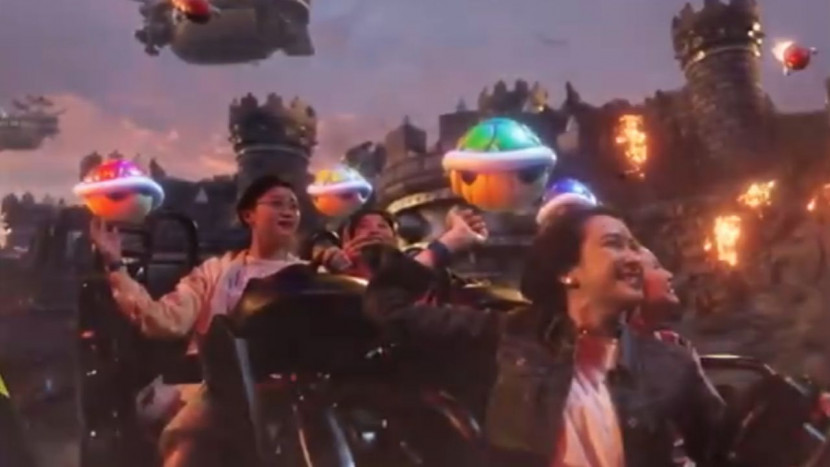 Nieuwe beelden Nintendo pretpark tonen Mario Kart attractie