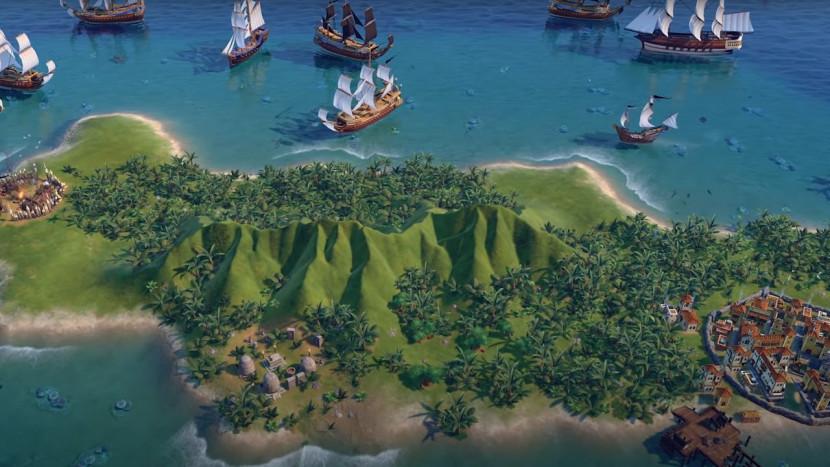 Nieuwe Civilization VI update laat je de piraat uithangen