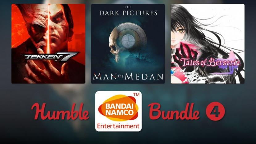 Nieuwe Humble Bundle bevat Tekken 7, Tales of Berseria en meer