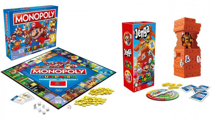 Nieuwe Mario Monopoly en Jenga gelanceerd