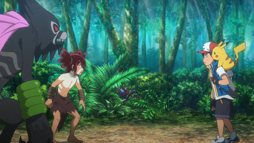 Nieuwe Pokémon film doet denken aan Tarzan