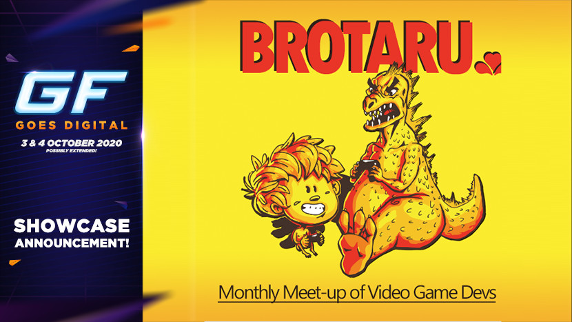 Nieuwe talent met Brotaru tijdens GameForce Goes Digital