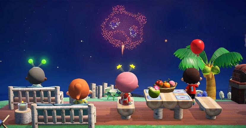 Nieuwe update Animal Crossing: New Horizons zorgt voor vuurwerk