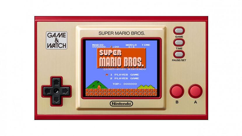 Nintendo lanceert dit jaar nieuwe Game & Watch handheld