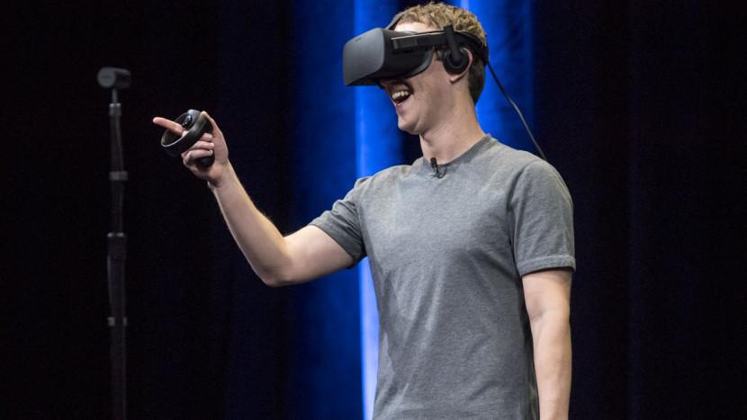Oculus headsets onbruikbaar door connectie met Facebook account