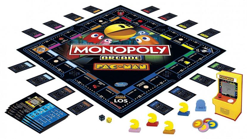 Pac-Man Monopoly komt met kleine arcadekast