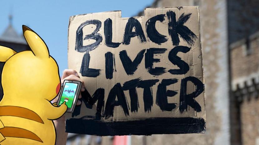 Pokémon GO doneert 5 miljoen dollar voor Black Lives Matter