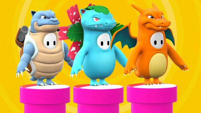 Pokémon skins voor Fall Guys? Yes please!