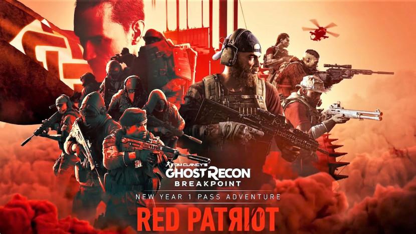 Red Patriot is derde uitbreiding voor Ghost Recon Breakpoint