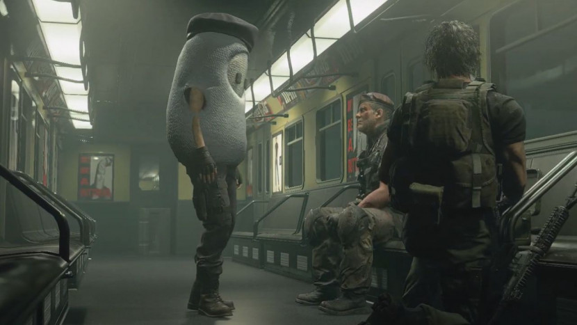 Resident Evil x Fall Guys is hilarisch