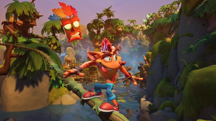REVIEW | Crash Bandicoot 4: It's About Time is een volbloed platformgame