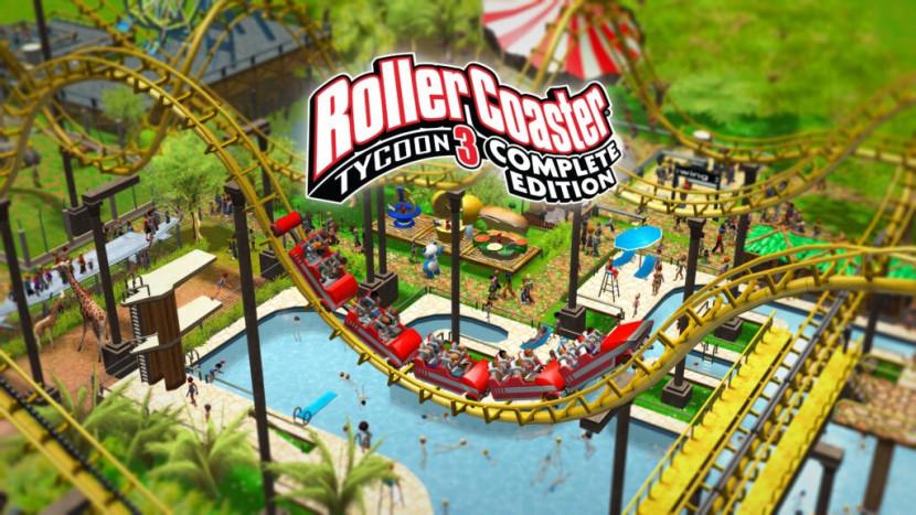 Rollercoaster Tycoon 3: Complete Edition verschijnt deze maand nog