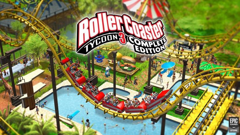 RollerCoaster Tycoon 3 nu gratis te downloaden