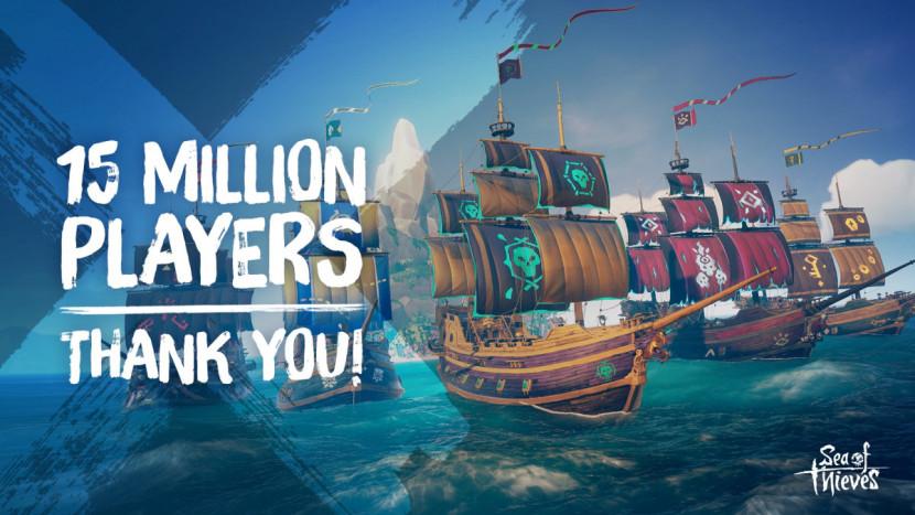 Sea of Thieves heeft 15 miljoen spelers bereikt