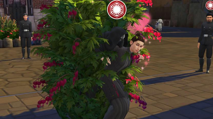 Sims spelers achterhalen hoe kinderen van Kylo en Rey eruit zien