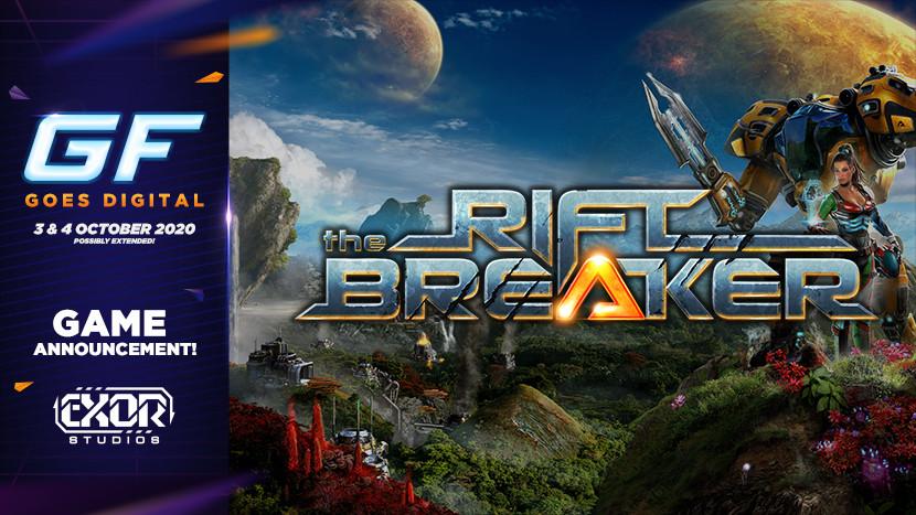 Sla je doorheen een massa vijanden in The Riftbreaker tijdens GameForce Goes Digital