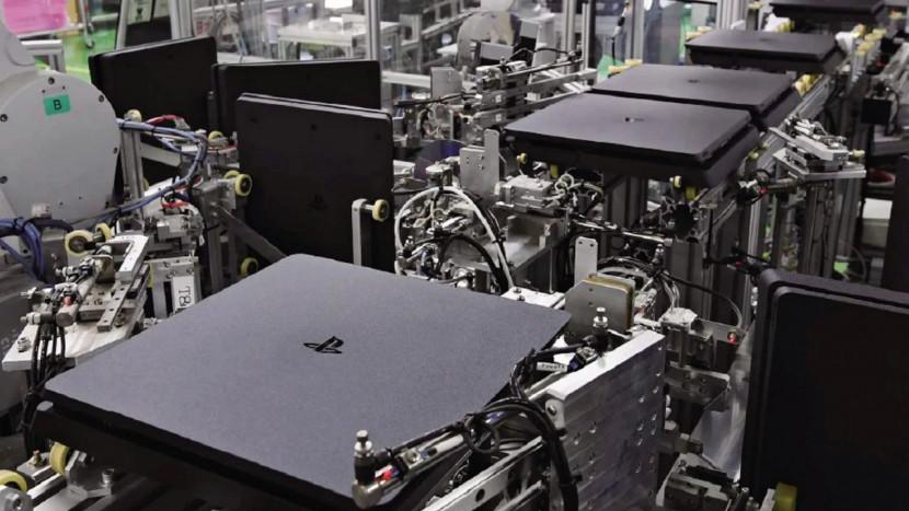 Sony gebruikt robots om elke 30 seconden een nieuwe PS4 te maken