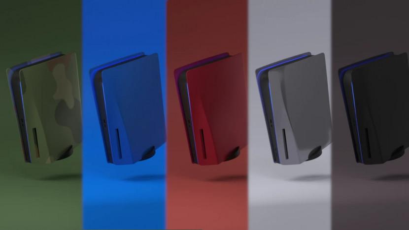 Sony houdt verkoop custom faceplates PS5 tegen