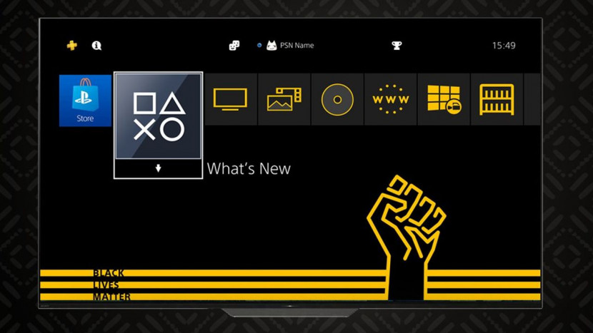 Sony lanceert gratis Black Lives Matter theme voor PS4