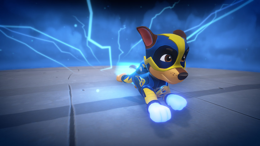 Speel de held in Paw Patrol: Mighty Pups Save Adventure Bay