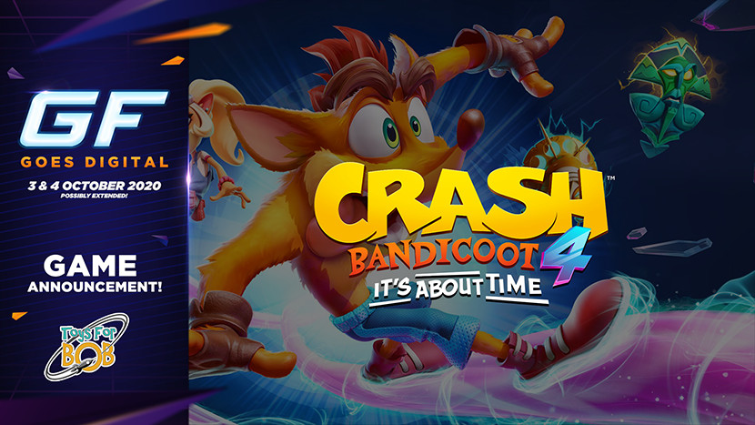 Spring mee in Crash Bandicoot 4: It's About Time tijdens GameForce Goes Digital