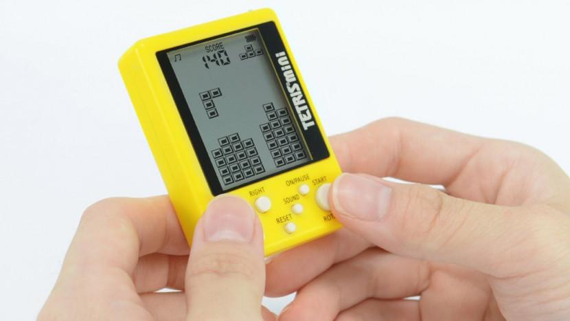 Tetris Mini gelanceerd als sleutelhanger