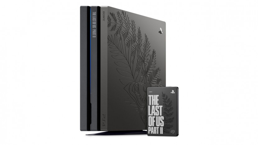 The Last of Us Part 2 Limited Edition PS4 Pro is prachtig gegraveerd