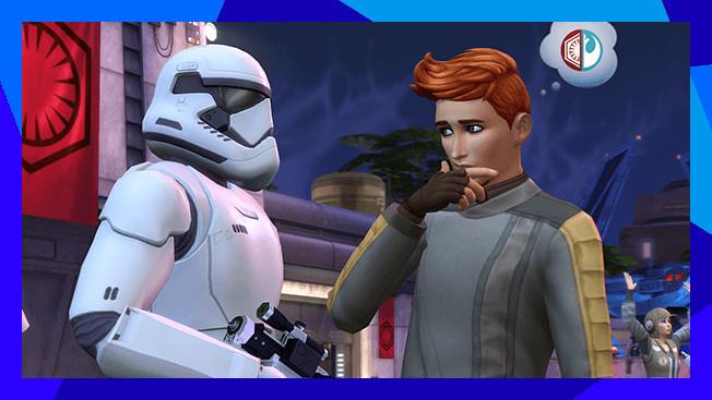 The Sims 4 Star Wars: Journey to Batuu toont eerste gameplay