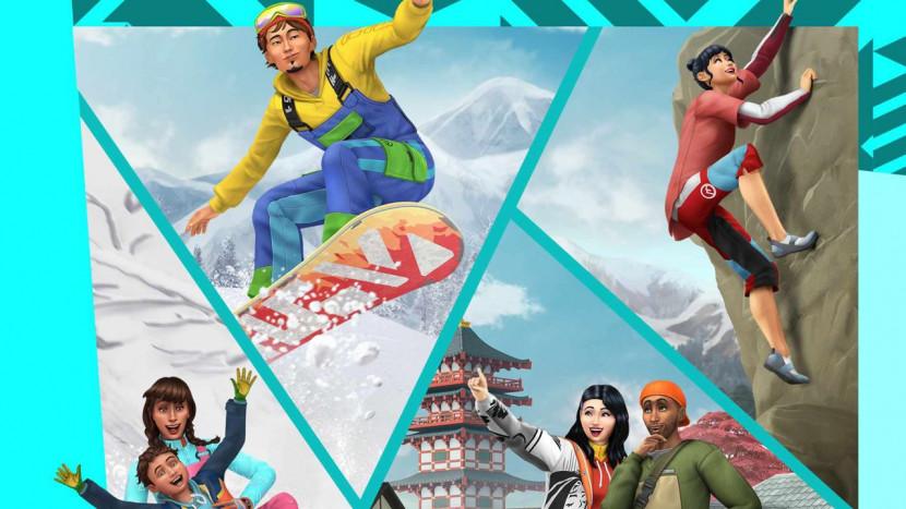 The Sims 4 trekt op sneeuwvakantie in nieuwe uitbreiding