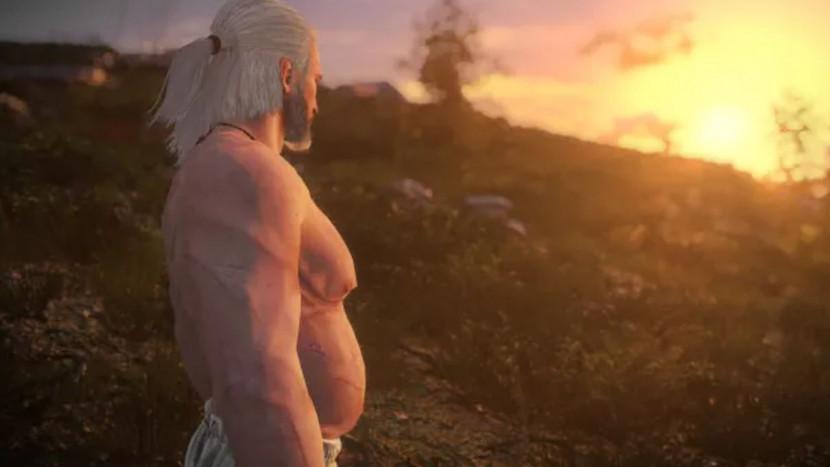 The Witcher mod geeft Geralt een bierbuikje