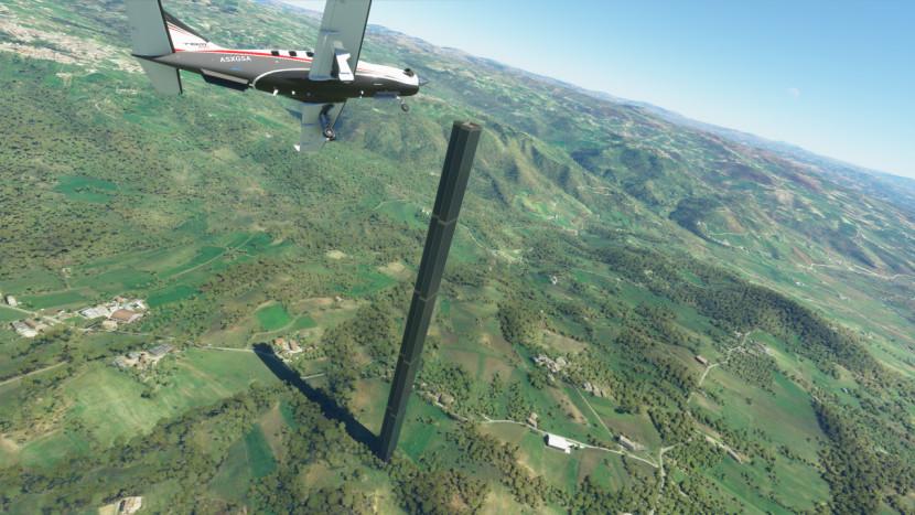 Tweede, gigantische obelisk gevonden in Microsoft Flight Simulator