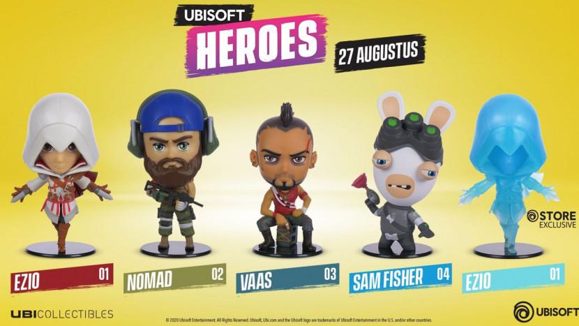 Ubisoft lanceert Ubisoft Heroes om te verzamelen
