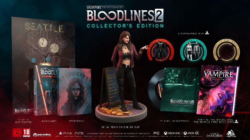 Uitgebreide collector's edition voor Vampire: The Masquerade - Bloodlines 2