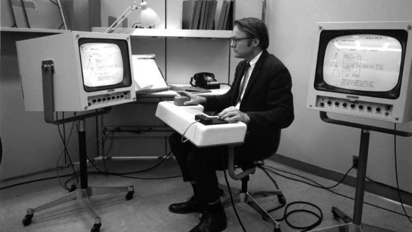 Uitvinder van computermuis overleden