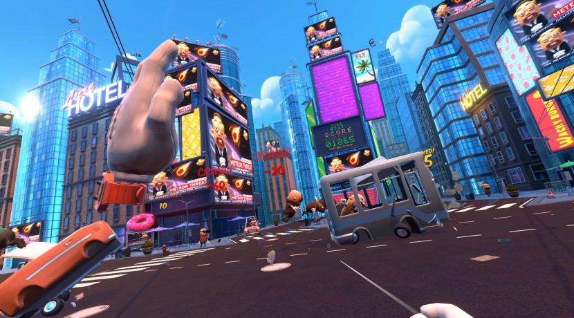 Verkeersagent spelen in Traffic Jams voor PS VR