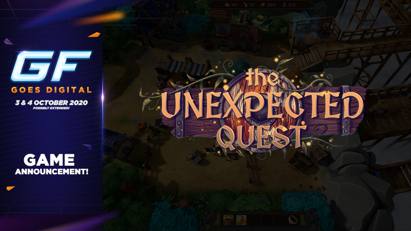 Verken de middeleeuwen in The Unexpected Quest tijdens GameForce Goes Digital