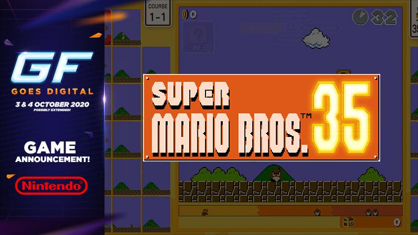 We vieren ook de verjaardag van Mario tijdens GameForce Goes Digital