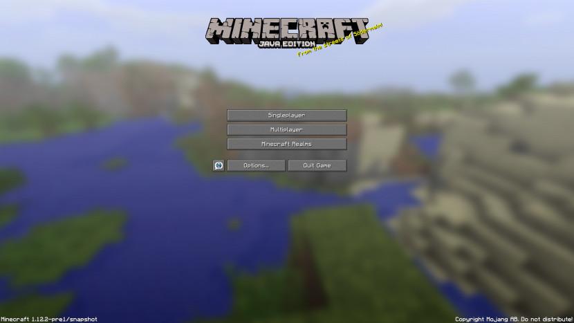 Wereld van titelscherm Minecraft eindelijk gevonden