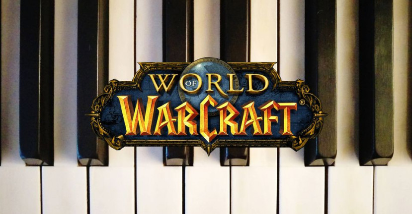 World of Warcraft speler gebruikt piano voor raids