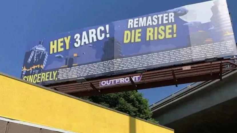 YouTuber koopt reclamebord bij Treyarch kantoor om Black Ops 2 Zombies remaster te eisen