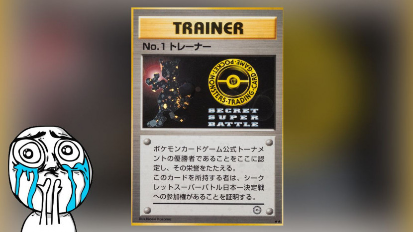 Zeldzame Pokémon kaart verkocht voor 90.000 dollar