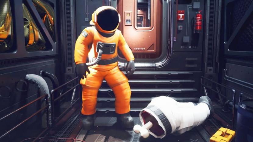 Zotte graphics in Unreal Engine 4-versie van Among Us